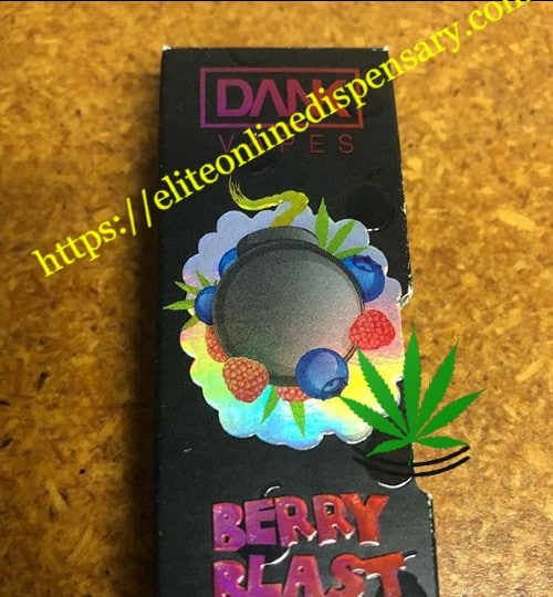 berry blast dank cartridge