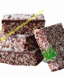 Cannabis Chocolate Crispy Bites