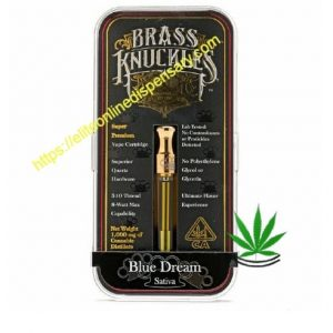 blue dream brass knuckles