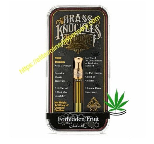 forbidden fruit brass knuckles